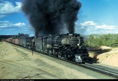 RailPictures.Net Photo: UP 4003 Union Pacific Steam 4-8-8-4 at Cheyenne, Wyoming by Collection of Chris Zygmunt