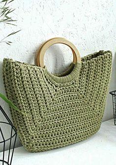Crochet Bag Models Worth Seeing In August 2019 - Page 11 Of 40 - Womens Ideas - Knitting Bag Bag Crochet, Crochet Handbags, Crochet Purses, Crochet Stitches, Crochet Baby, Crochet Pattern, Diy Crafts Crochet, Crochet Ideas, Bag Women