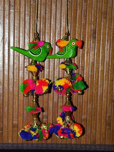 Banjara Style Handmade Authentic Accessory. It is made with pom-poms and beads. You will look lovely wearing this accessory and finished your look with this amazing thing!  These stunning...