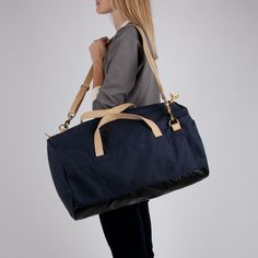 Archival Clothing Duffel - Charcoal Duck
