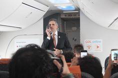 Gol passa a oferecer internet a bordo em seus voos