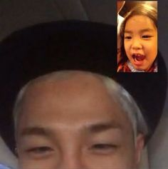 Taeyang and Haru show their adorable bond in a video call Yg Groups, Lee Haru, Superman Cast, Bigbang Members, Korean Shows, Attractive Guys, Daesung, Pop Bands, Drama Movies