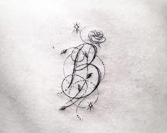 Custom designed petunia line art detailed dotwork designed for Dr woo tattoo price