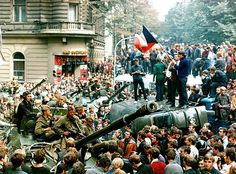 From August 20 to some Soviet and Warsaw Pact troops invaded Czechoslovakia overnight to halt a blossoming political and cultural liberalization, to stop the Prague Spring and tightening the Kremlin's grip. Prague Spring, Warsaw Pact, Marie Curie, Cultura Pop, Cold War, Czech Republic, Images, World, August 21