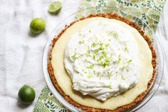 Tart and not too sweet, rich and creamy, with a salted graham cracker crust—this is absolutely the best key lime pie I've ever tasted.       Before I completely jump into the pie-lovin', I ha…