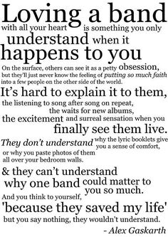 Spot on. If it weren't for my bands, Duran, Spandau, Depeche...I'd not be here today. The friendships I've made because of them, the fact that I share the music to this day with my own 17 year old son...all priceless.