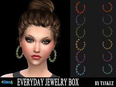 Sims 4 CC's - The Best: Earrings by Tankuz