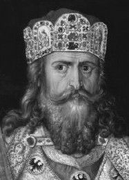 Charlemagne built his empire by 800, restored the church based education and revived Roman imperial government.  The empire did not survive his 814 death.  His sons divided territory and rulers after lacked talent.  Local lords and city-states went their own ways.