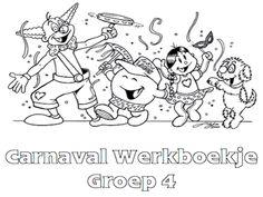 Carnaval Werkboekje Groep 4