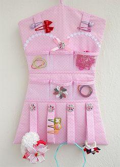 Платье - органайзер для резинок и заколок