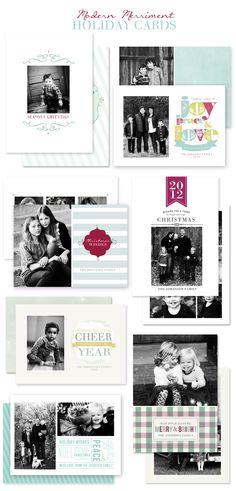 Christmas Card Templates by Jamie Schultz Designs