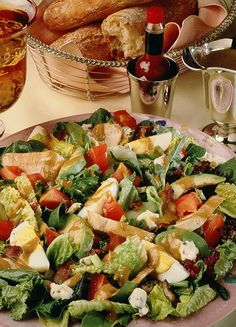 Spicy Cobb Salad plus over more TABASCO® recipes perfect for menu planning and everyday meals. You'll be amazed how delicious homemade can be! Salad Bowls, Pasta Salad, Cobb Salad, Easy Recipes, Easy Meals, Cooking Recipes, Menu Planning, Salad Dressing, Salad Recipes