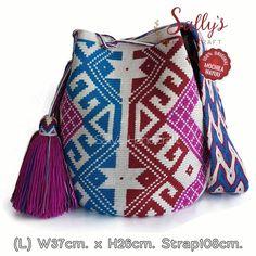 39 отметок «Нравится», 1 комментариев — กระเป๋าวายูแท้100% Wayúu bag (@sallyshandicraft) в Instagram: «ลายนี้สวยค่ะ✔ซื้อได้เลยค่ะ ไหมเดี่ยวสายโอโซฯ ขนาดLมารตฐาน นน.เบา ทอละเอียดจากช่างฝีมือวายูระดับครู…»