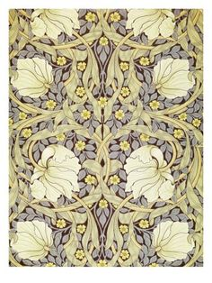 William Morris, Pimpernell, Wallpaper Design Giclee Print