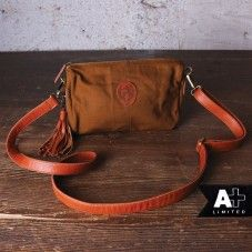 alprausch canvas and leather bag