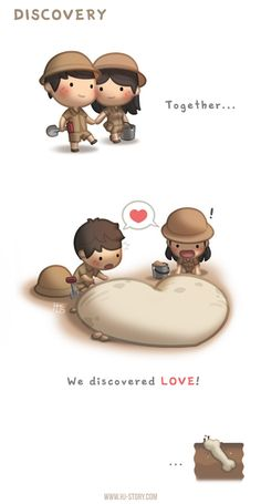 Discovery ~ <3 Loved & pinned by http://www.shivohamyoga.nl/ #love #quotes #quote #lovely #cute #loveis #cartoon #warm #hope #live #life #hope #hjstory #adorable