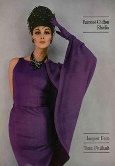 Wilhelmina Cooper-model extraordinaire, mostly 1960's