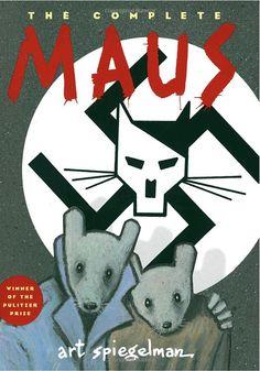 Maus, de Art Spiegelman, consiguió el Premio Puliztzer de periodismo en 1992. La obra—de casi 300 páginas—, se publicó en dos partes: Mi padre sangra historia (1986);  Y allí empezaron mis problemas ( 1991)