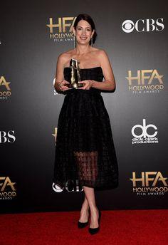 Pin for Later: All' eure Lieblingsstars drängelten sich bei den Hollywood Film Awards Gillian Flynn