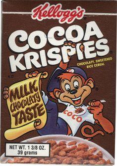 Best Cereal, Cereal Milk, Rice Cereal, Cereal Packaging, Cocoa Krispies, Breakfast Of Champions, Weird Food, Sweet Memories, Snacks