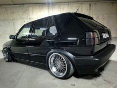 Vw Hatchback, Volkswagen Golf Mk2, Old School, Mustang, Wheels, Garage, Cars, Motorbikes, Modified Cars