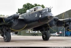 "Avro 683 Lancaster B VII ""Just Jane"" at East Kirkby 2013."