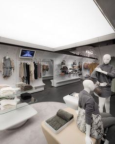 Stefanel store by Sybarite.  i just love the look!!!