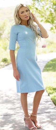 Kennedy Dress [MDS1690] - $59.99 : Mikarose Boutique, Reinventing Modesty