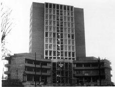 Edificio de la sindical.1954