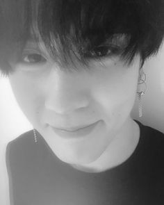 Kim Yugyeom my page for more pic Got7 Jackson, Wang Jackson, Got7 Yugyeom, Youngjae, Jinyoung, Mustache, Pearl Earrings, Black And White, Celebrities