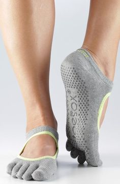 ToeSox 'Bella' Full Toe Gripper Socks available at #Nordstrom