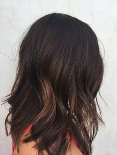 Subtle Balayage Hair Color Ideas for Winter Soft Interior Layering