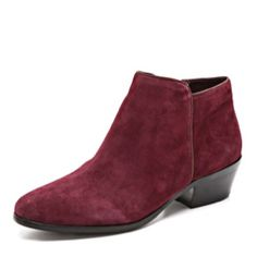 Dreaming about fall already / burgundy petty boots / sam edelman