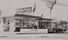 Tastee-Freez on Glendora Ave, West Covina, 1967 California History, Vintage California, Southern California, San Gabriel Valley, West Covina, Historical Pictures, The Good Old Days, Vintage Pictures, Back In The Day