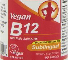 Vegan supplementation Dosage, form and frequency of supplements - PlenteousVeg Vegan B12, Vegan Vegetarian, Vegetarian Recipes, Methylcobalamin B12, Vegan Vitamins, Vitamin B12, Folic Acid, Nutrition, Diet