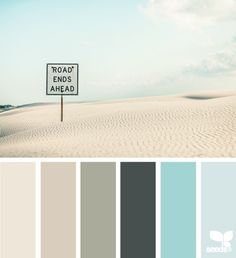 Im in love with this palette...makes me want to go to the coast right now!!!!!