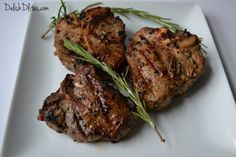 Spring is definitely the season for lamb. Make these delectable garlic and rosemary grilled lamb chops with this simple & delish recipe from Delish D'Lites.