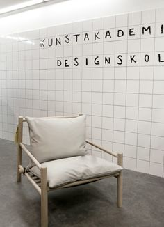 Danish design school at the Stockholm furniture fair 2012.