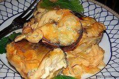 Скумбрия, запеченная в горчичном соусе