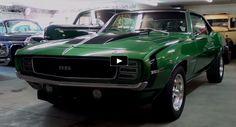 Gorgeous 1969 Chevy Camaro 383 Stroker Up Close