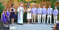 Beautiful Wedding to blend two families