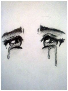 Eyes sad drawings, drawings of sadness, drawings of people, sad sketches,. Crying Eye Drawing, Cry Drawing, Sad Girl Drawing, Manga Drawing, Drawing Faces, Crying Girl Sketch, Figure Drawing, Sad Sketches, Sad Drawings