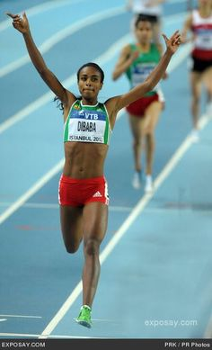 Oromo athlete:Genzebe Dibaba  1500m world Champion - 3 World Records in 15 days at 3 differing distances!