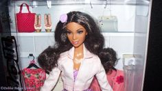 New Black Barbie Dolls | here s a head shot of her in the box i think she s lovely