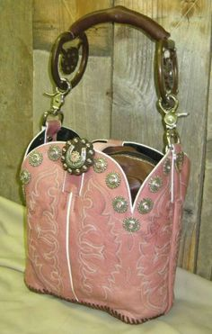 Boot purse ....it is really cool.