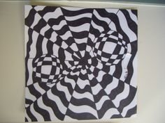Middle School Art Lessons | DREAM DRAW CREATE Art Lessons for Children: Op Art by Grade 8