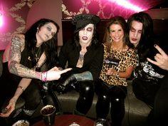Vampires Everywhere, Lynn Maggio, Philip Kross, Aaron Graves, Michael Vampire, DJ Black, Vans Warped Tour 2012 by Real TV Films, via Flickr