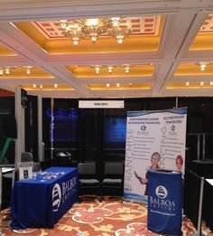 1000 images about identity conference booth design on for Pool spa trade show las vegas
