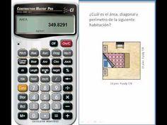 Construcción de Habitaciones: Cómo Calcular el Area, Perimetro y Diagonal de una Habitación con la Calculadora Construction Master Pro