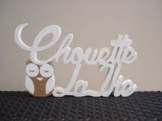 """Mot """"Chouette la vie"""""""